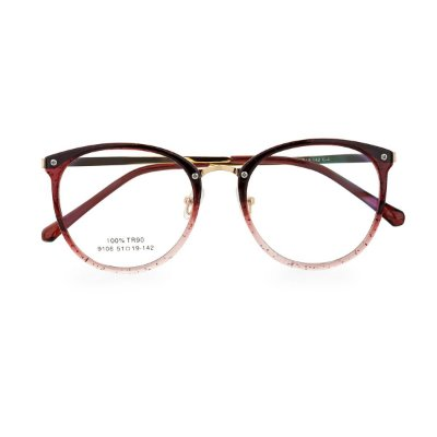 Óculos de Grau Kessy 100 Vinho Glitter