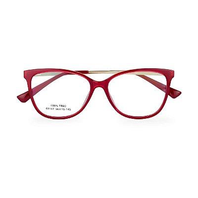 Óculos de Grau Kessy 215 Vermelho