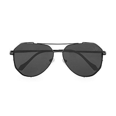 Óculos de Sol Kessy Aviador Salvador Preto