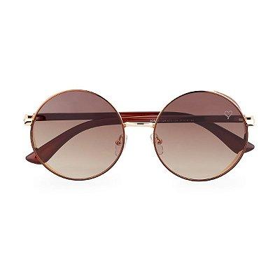 Óculos de Sol Kessy Estilo Marrom