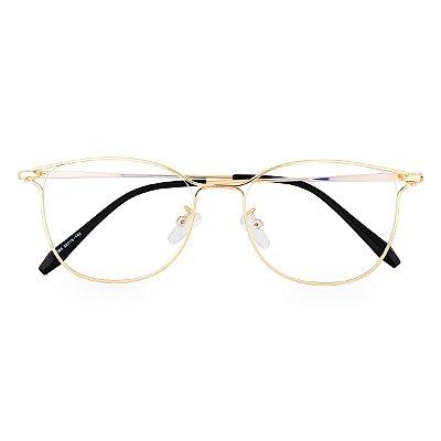 Óculos de Grau Kessy 270 Dourado