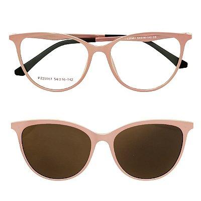 Óculos de Grau Kessy Clip On 260 Nude