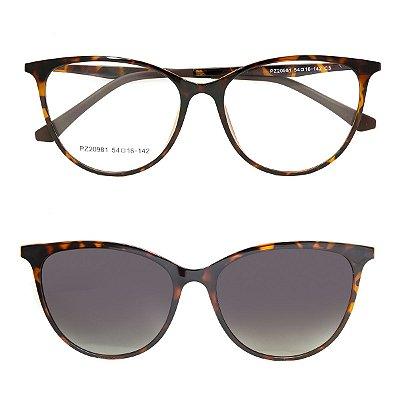 Óculos de Grau Kessy Clip On 260 Tartaruga