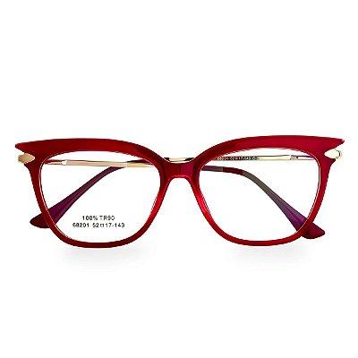 Óculos de Grau Kessy 275 Vermelho