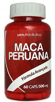 Maca Peruana 600 Mg - 60 Cápsulas - yenutracêutica