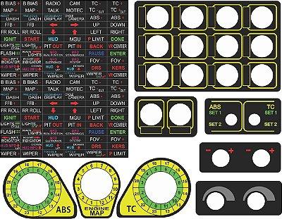 Adesivo Button Box Ou Volante Logitech G923 G29 G920 G27