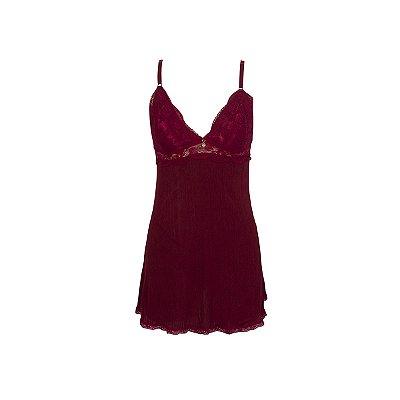 Camisola Vermelha Sensual Luxuosa