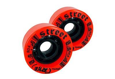 Rodas Street - 57 mm JOGO com 8 rodas