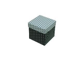 Caixinhas Estampadas com Bolinhas - 6x6x6