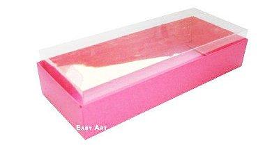 Caixa para  10 Brigadeiros - 20x8x4,5 / Pink