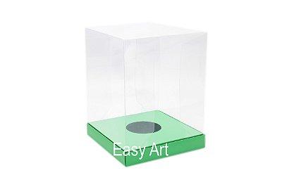 Caixa para Ovos de Páscoa de Pé - Verde Pistache