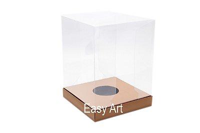 Caixa Ovos de Páscoa / Panetones - Marrom Claro