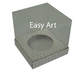 Caixas Especiais para Cupcakes - 9x9x9