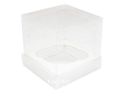 Caixas para Mini Cupcakes - Branco