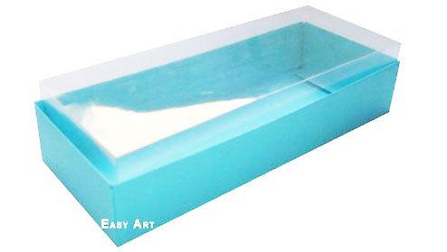 Caixa para 8 Brigadeiros - Azul Tiffany