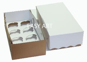 Caixas para Transporte de Cupcakes - 35x18x10