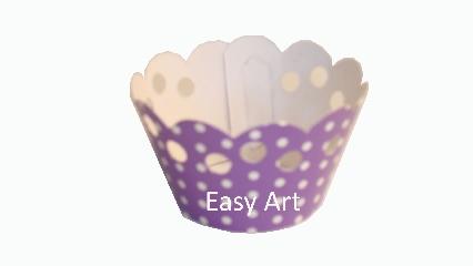 Wrapper para Cupcakes - 7,5x5x4,5
