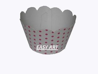 Wrapper para Cupcakes - 5x3,5x3,5