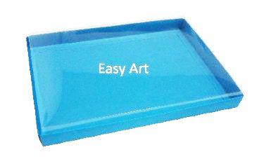 Caixas para Convites - Azul Turquesa
