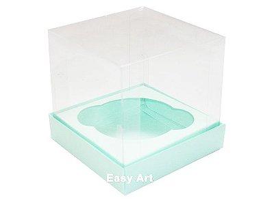 Caixas para Cupcakes - Verde Claro