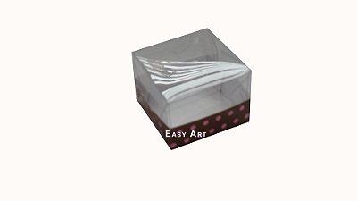 Caixas para Trufas e Amêndoas - 5x5x3,5