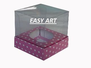 Caixas Especiais para Cupcakes - 7,5x7,5x10