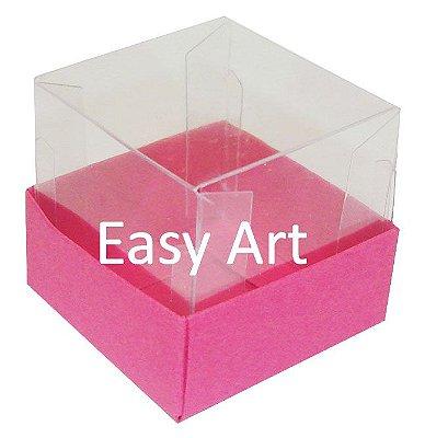 Caixinha para 1 Trufa / Brigadeiro - Pink