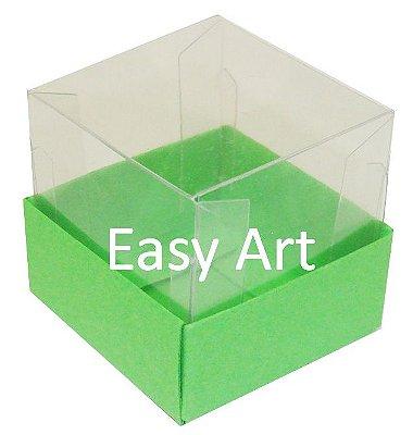 Caixinha para 1 Trufa / Brigadeiro - Verde Pistache