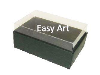Caixas para 06 Mini Doces / Verde Musgo