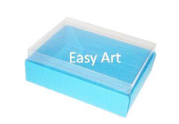 Caixas para 12 Mini Doces / Azul Turquesa