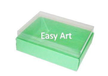 Caixas para 12 Mini Doces / Verde Pistache