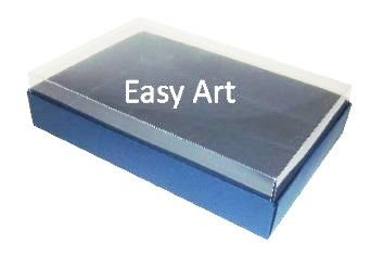 Caixas para 24 Mini Doces / Azul Marinho