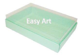Caixas para 24 Mini Doces / Verde Claro
