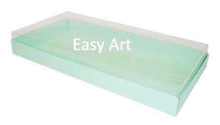 Caixas para 50 Mini Doces / Verde Claro