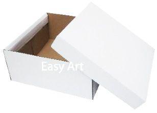 Caixas para Bolos, Tortas e Festa na Caixa - Papelão Branco / Pardo