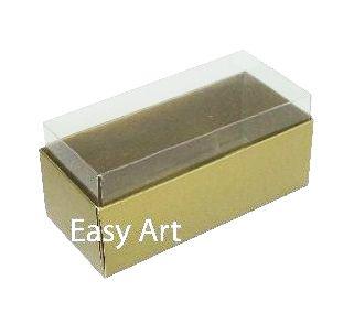Caixas para 4 Macarons - Dourado