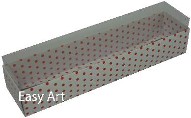 Caixas para Macarons - 21x4,5x4,5
