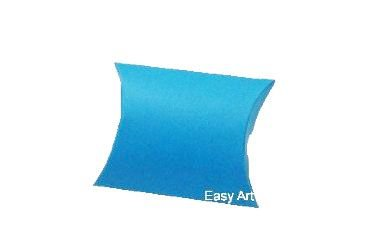 Caixa Almofada - Azul Turquesa