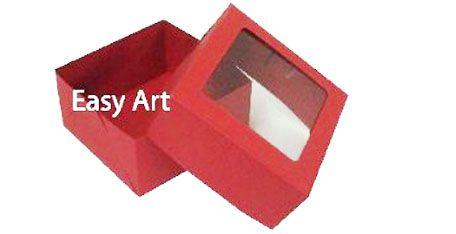 Caixa para 4 Brigadeiros - Vermelho