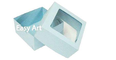 Caixa para 4 Brigadeiros - Azul Claro
