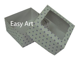 Caixas com visor para Bombons - Linha B - 7x7x3,5