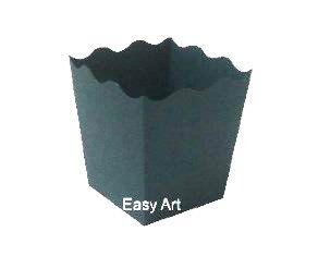 Cachepô / Caixa para Pipoca - Verde Musgo