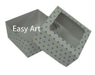 Caixas com visor para Bombons - Linha B - 8x8x3,7