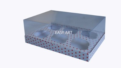 Caixas Especiais para Mini Cupcakes - 17x11,5x8