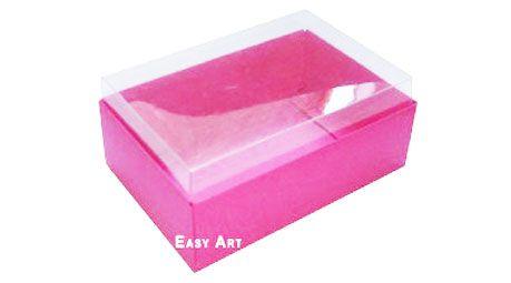 Caixa para 6 Brigadeiros - Pink