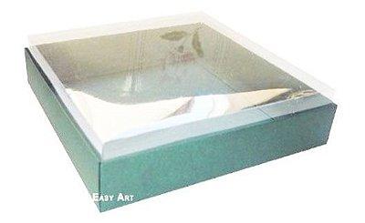 Caixa para 25 Brigadeiros - Verde Musgo