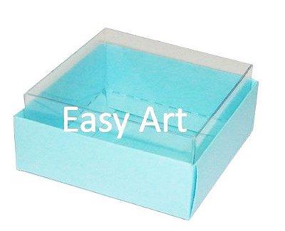 Caixinhas para Trufas e Amêndoas / Azul Tyffany - 5x5x2,5