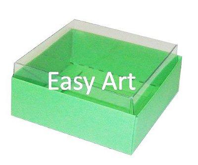 Caixinhas para Trufas e Amêndoas / Verde Pistache - 5x5x2,5