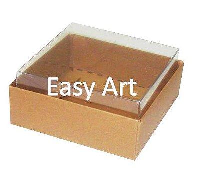 Caixinhas para Trufas e Amêndoas / Marrom Claro - 5x5x2,5