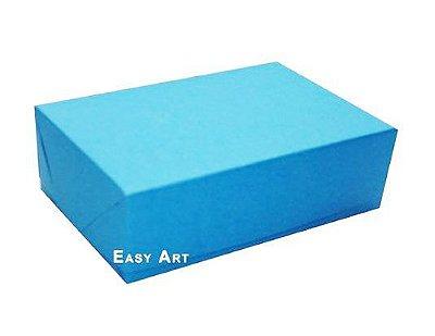 Caixas para 12 Brigadeiros - Azul Turquesa